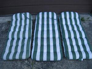 3 Patio Chair Cushions