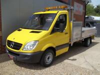 £ 49 A WEEK - 2007 MERCEDES SPRINTER 2.1 AUTO LWB 2DR DROPSIDE TRUCK WITH TOOLBX