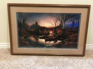 Morning Solitude by Terry Redlin Numbered Print 1,318/12,107