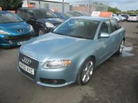 2005 Audi A4 Saloon 1.9TDi 115 S line Diesel blue Manual