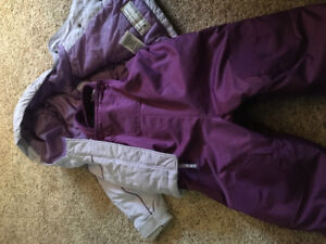 Columbia two piece snow suit