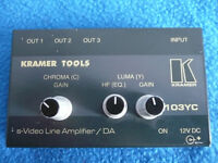 S-video line amplifier KRAMER model 103YC