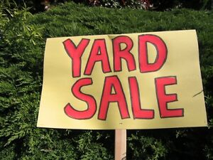 Yard Sale - St. James