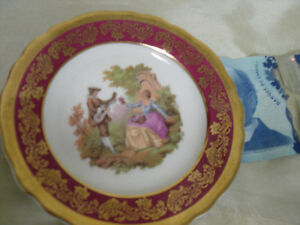 Sale $7.00 LIMOGES mini collector plate