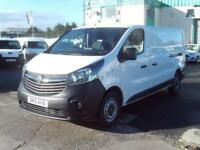 Vauxhall Vivaro 2900 1.6cdti L2 H1 115ps DIESEL MANUAL WHITE (2015)