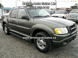 2002 Ford Explorer Sport Trac leather Sunroof 4x4 Pickup Truck