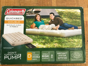 Coleman sundome Camping  Tent(8 People) and Inflatable Beds