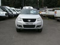2012/62 GREAT WALL STEED LWB 2.0TD S 140 4WD 4 DR D/CAB PICK-UP DIESEL