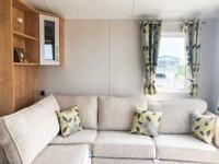 Willerby Winchester top of the range Static caravan on Barmston Beach 6 berth
