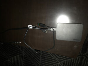 1TB (1000GB) external hard drive with power y cable