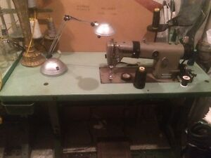 2 Sewing Machine plus table