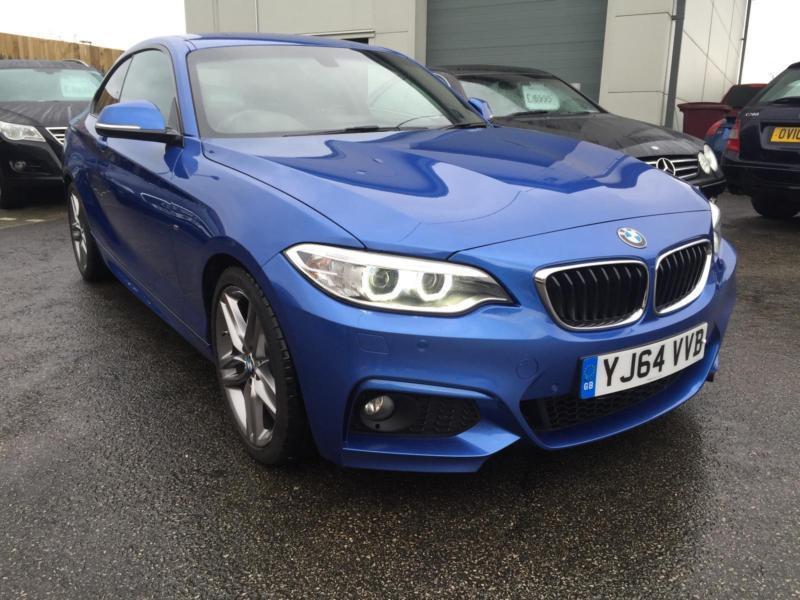 BMW 225 2.0TD ( 218bhp ) ( s/s ) Auto d M Sport coupe 2014 ...