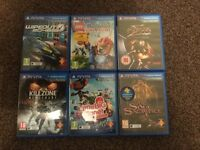 6 games & 16GB memory card for PS Vita.