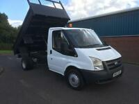 FORD TRANSIT T350 TIPPER PICK UP