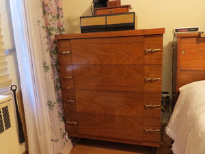chest of drawers; commode