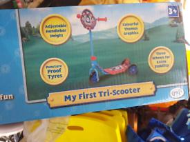 Kids scooter three wheels. Bargain price