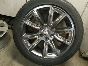 "New Takeoffs 2015 Chevy LTZ 22"" w/Bridgestone Dueller 285/45/22"