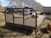 12' Truck Deck w/5th wheel
