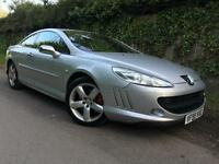 2006 Peugeot 407 2.7HDi V6 (205bhp) auto GT Coupe, Only 51k miles, FSH