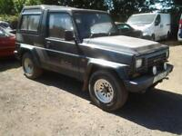 Daihatsu Fourtrak 2.8 turbo diesel 3 door