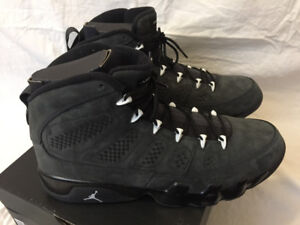 Nike Air Jordan Retro 9 Anthracite Size 14 VNDS