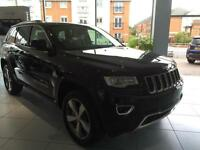 2016 Jeep Grand Cherokee V6 CRD OVERLAND ** BEIGE NAPPA LEATHER ** Diesel black