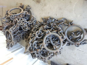 Heavey duty wheel loader Ring Chains