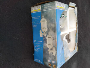 outdoor lantern fixture (white) never used (1)