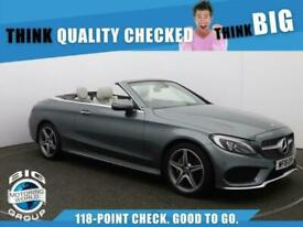 image for 2018 Mercedes-Benz C Class C 200 AMG LINE Auto Convertible Petrol Automatic