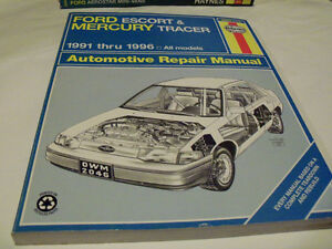 Ford Escort / Mercury Tracer Service  Manual 1991-1996
