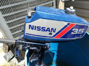 3.5hp Nissan outboard