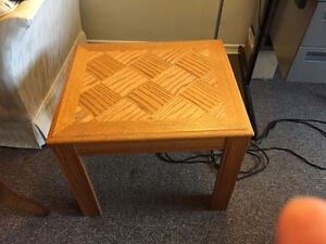 Set of 3 Wooden Tables