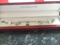 Hot Diamonds charm bracelet