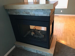 Gas Fireplace - 3 Sided