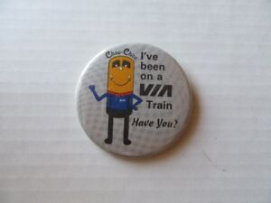 TRAIN - PIN BACK BUTTONS