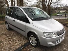 Fiat Multipla 1.9 Multijet 120 Dynamic Family **Finance from £88.79 a month**