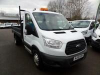 Ford Transit T350 SINGLE CAB TIPPER 125ps EURO 5 DIESEL MANUAL WHITE (2015)
