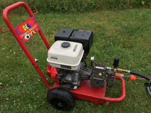 Commercial Honda gas pressure washer 4000psi