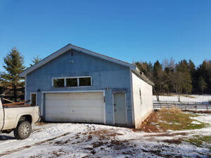 FOR RENT 28X50 Garage in North River