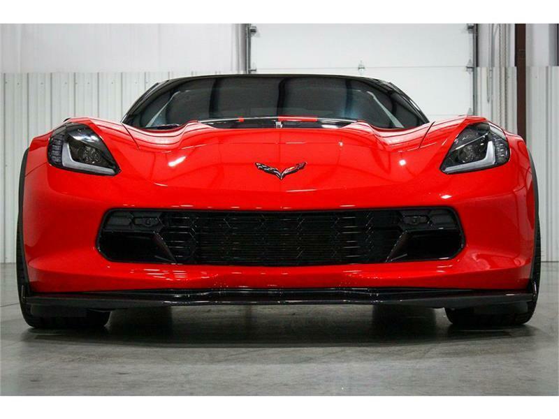 2016 Red Chevrolet Corvette Z06 3LZ   C7 Corvette Photo 8