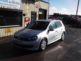 Volkswagen Golf 1.6TDI BLUEMOTION TECH 2012 £0 ROAD TAX