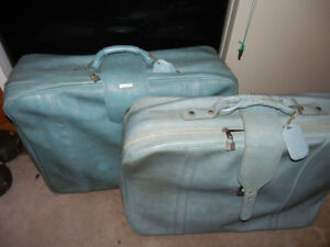 TWO LARGE PIECES OF LUGGAGE