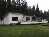 PRIVATE 40 ACRE LAKEFRONT PROPERTY WITH HOUSE & SHOPS