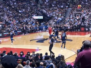 Toronto Raptors Lower Bowl Row 11 up to four seats in a row