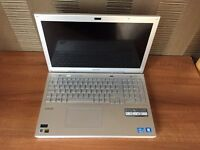 "SONY VAIO 15.5"" LAPTOP SVS1511S9ES, CORE i5, WINDOWS 7, BLUE RAY, BOXED IN IMMACULATE CONDITION"