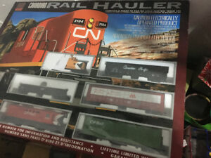 LIKE NEW!Reduced for Quick Sale! Electric Train set- Canadian Ra
