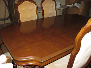 Large Dining Room Set with China Cabinet