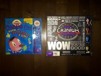 Two brand new cranium games (child/adult)