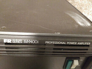Mackie FR Series 1400 i Professional Amplifier. $350.00