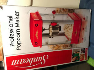 Excellent shape , Sunbeam kettle popcorn machine